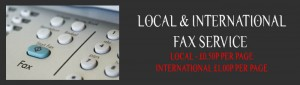 Fax service