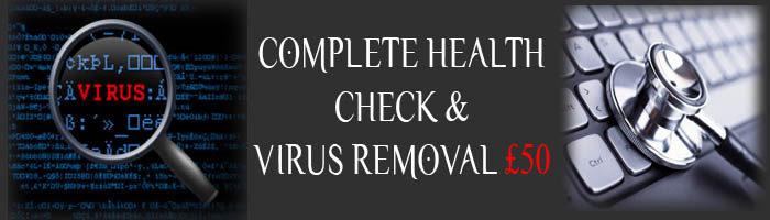 Health check and Virus Removal