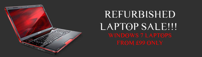 Refurbished laptop sale